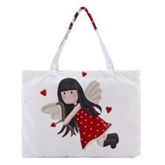 Cupid Girl Medium Tote Bag