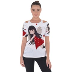 Cupid Girl Short Sleeve Top