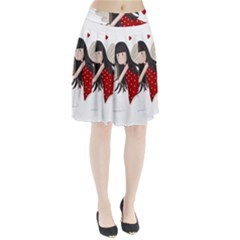 Cupid Girl Pleated Skirt