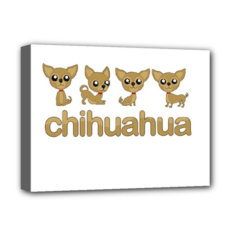Chihuahua Deluxe Canvas 16  X 12