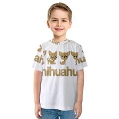Chihuahua Kids  Sport Mesh Tee