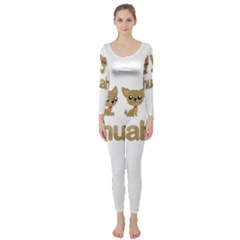 Chihuahua Long Sleeve Catsuit