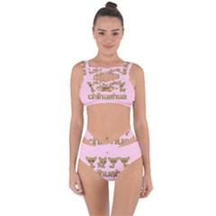 Chihuahua Bandaged Up Bikini Set