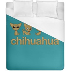 Chihuahua Duvet Cover (california King Size)