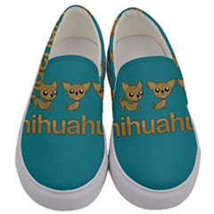 Chihuahua Men s Canvas Slip Ons