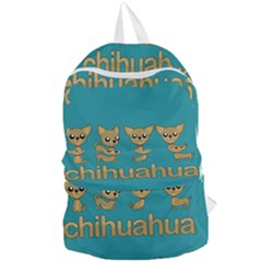 Chihuahua Foldable Lightweight Backpack