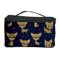 Chihuahua Pattern Cosmetic Storage Case