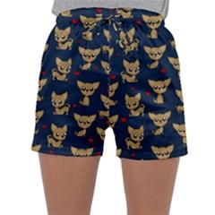 Chihuahua Pattern Sleepwear Shorts