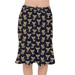 Chihuahua Pattern Mermaid Skirt