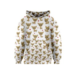 Chihuahua Pattern Kids  Pullover Hoodie