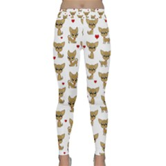 Chihuahua Pattern Classic Yoga Leggings