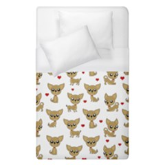 Chihuahua Pattern Duvet Cover (single Size)
