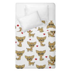 Chihuahua Pattern Duvet Cover Double Side (single Size)