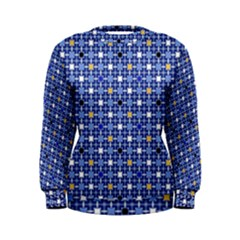 Persian Block Sky Women s Sweatshirt