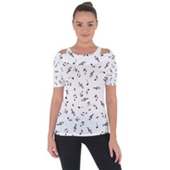 Music Tones Light Short Sleeve Top