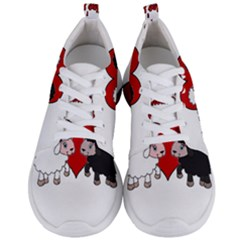 Valentines Day   Sheep  Men s Lightweight Sports Shoes