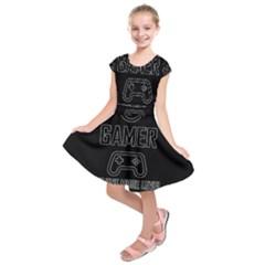 Gamer Kids  Short Sleeve Dress