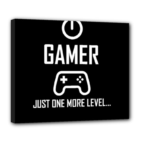 Gamer Deluxe Canvas 24  X 20