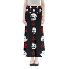 Communist Leaders Full Length Maxi Skirt