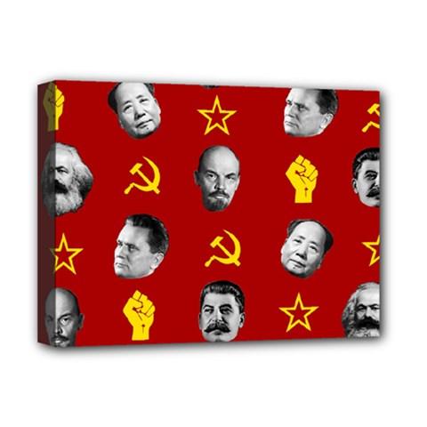 Communist Leaders Deluxe Canvas 16  X 12