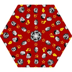 Communist Leaders Mini Folding Umbrellas
