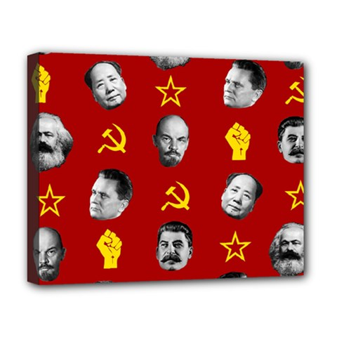 Communist Leaders Deluxe Canvas 20  X 16