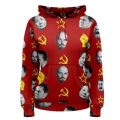Communist Leaders Women s Pullover Hoodie