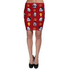 Communist Leaders Bodycon Skirt
