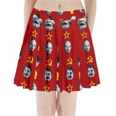 Communist Leaders Pleated Mini Skirt