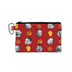Communist Leaders Canvas Cosmetic Bag (small)