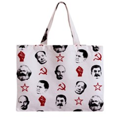 Communist Leaders Zipper Medium Tote Bag