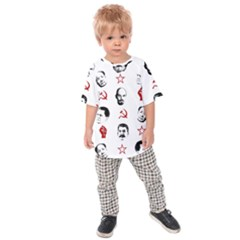 Communist Leaders Kids Raglan Tee