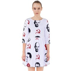 Communist Leaders Smock Dress