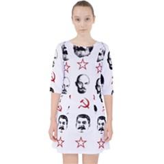 Communist Leaders Pocket Dress