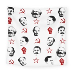 Communist Leaders Square Tapestry (large)