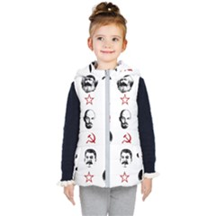 Communist Leaders Kid s Puffer Vest