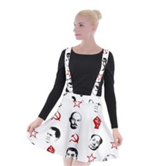 Communist Leaders Suspender Skater Skirt