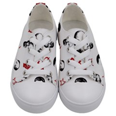 Communist Leaders Kids  Low Top Canvas Sneakers