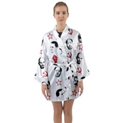 Communist Leaders Long Sleeve Kimono Robe