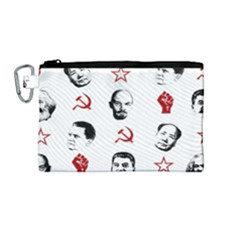 Communist Leaders Canvas Cosmetic Bag (medium)