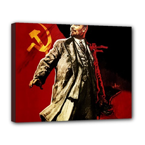 Lenin  Canvas 14  X 11