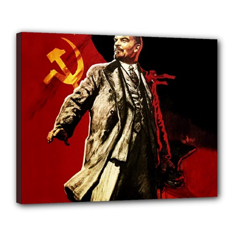 Lenin  Canvas 20  X 16