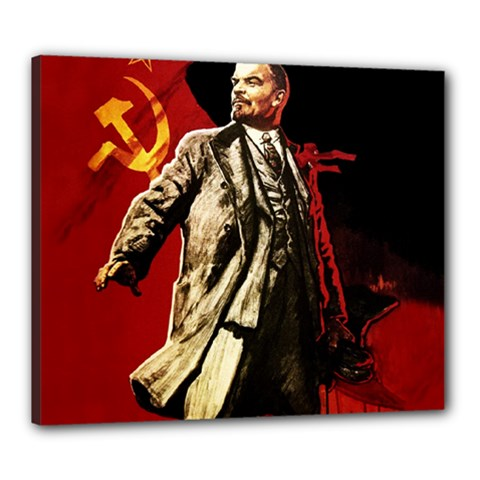 Lenin  Canvas 24  X 20