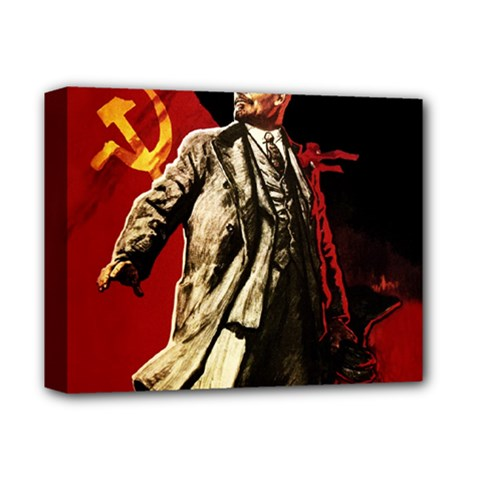 Lenin  Deluxe Canvas 14  X 11