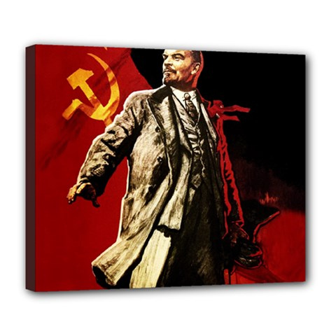 Lenin  Deluxe Canvas 24  X 20