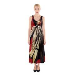 Lenin  Sleeveless Maxi Dress