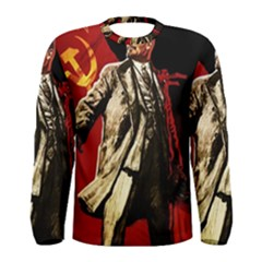 Lenin  Men s Long Sleeve Tee