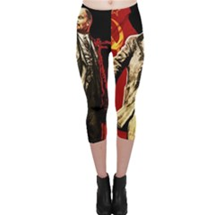 Lenin  Capri Leggings