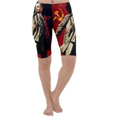 Lenin  Cropped Leggings