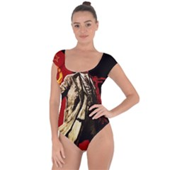 Lenin  Short Sleeve Leotard